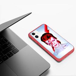 Чехол iPhone 11 матовый Aladdin sane цвета 3D-красный — фото 2