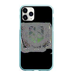 Чехол iPhone 11 Pro матовый The International 2018 цвета 3D-мятный — фото 1