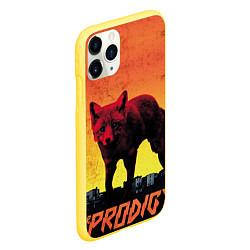Чехол iPhone 11 Pro матовый The Prodigy: Red Fox цвета 3D-желтый — фото 2