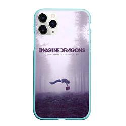 Чехол iPhone 11 Pro матовый Imagine Dragons: Silence цвета 3D-мятный — фото 1