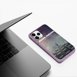 Чехол iPhone 11 Pro матовый Imagine Dragons: Night Visions цвета 3D-сиреневый — фото 2