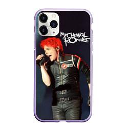 Чехол iPhone 11 Pro матовый Gerard Way цвета 3D-светло-сиреневый — фото 1