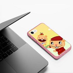 Чехол iPhone 7/8 матовый HTF: Pop цвета 3D-баблгам — фото 2