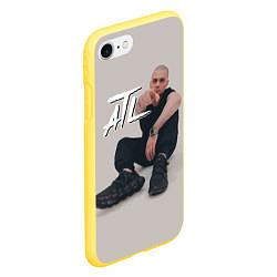 Чехол iPhone 7/8 матовый ATL цвета 3D-желтый — фото 2