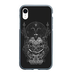 Чехол iPhone XR матовый Wolves in the Throne Room цвета 3D-серый — фото 1
