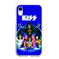 Чехол iPhone XR матовый Kiss Show цвета 3D-белый — фото 1