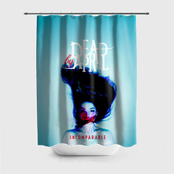 Шторка для душа Dead by April: Incomparable цвета 3D-принт — фото 1