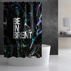 Шторка для душа Be in brent цвета 3D-принт — фото 2