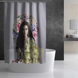 Шторка для душа Lorde Floral цвета 3D — фото 2