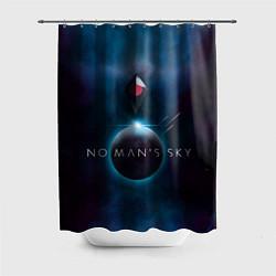 Шторка для душа No Man's Sky: Dark Space цвета 3D — фото 1