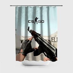 Шторка для душа Counter-Strike: De Dust цвета 3D — фото 1