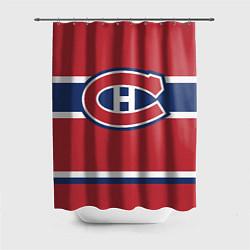 Шторка для душа Montreal Canadiens цвета 3D — фото 1