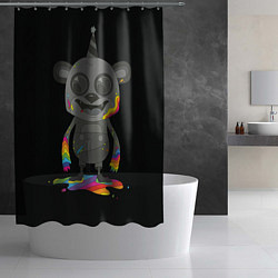 Шторка для душа Bear цвета 3D — фото 2