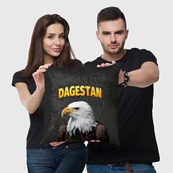 Подушка квадратная Dagestan Eagle цвета 3D — фото 2