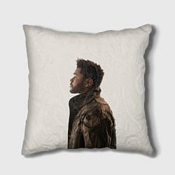 Подушка квадратная The Weeknd цвета 3D-принт — фото 1