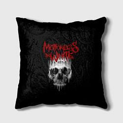 Подушка квадратная MIW Skull цвета 3D — фото 1