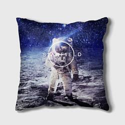 Подушка квадратная Starfield: Astronaut цвета 3D — фото 1
