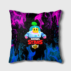Подушка квадратная BRAWL STARS SPROUT 13 цвета 3D — фото 1