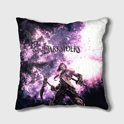 Подушка квадратная Darksiders 2 цвета 3D — фото 1