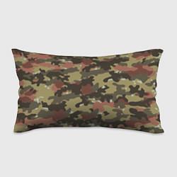 Подушка-антистресс Камуфляж: коричневый/хаки цвета 3D — фото 1