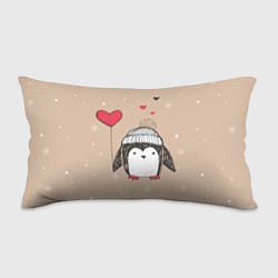 Подушка-антистресс Пингвин с шариком цвета 3D — фото 1