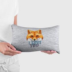 Подушка-антистресс Милая лисичка! цвета 3D — фото 2
