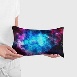 Подушка-антистресс Голубая вселенная цвета 3D — фото 2