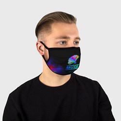Маска для лица Muse: Neon Flower цвета 3D — фото 1