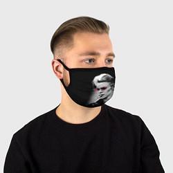 Маска для лица Дэвид Боуи цвета 3D-принт — фото 1