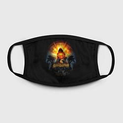 Маска для лица Blind Guardian: Guide to Space цвета 3D-принт — фото 2