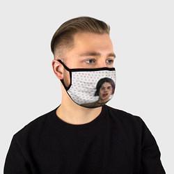 Лицевая защитная маска с принтом ДЖИЗУС, цвет: 3D, артикул: 10181250505881 — фото 1