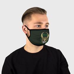 Маска для лица Loki цвета 3D — фото 1
