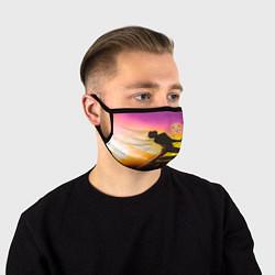 Маска для лица Queen цвета 3D — фото 1