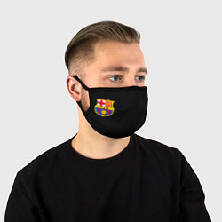 Маска для лица BARCELONA FC цвета 3D-принт — фото 1