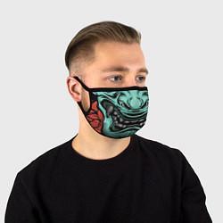 Маска для лица МАСКА РОНИНА цвета 3D-принт — фото 1