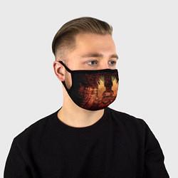 Маска для лица Halo цвета 3D — фото 1