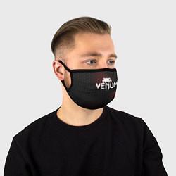 Маска для лица VENUM цвета 3D-принт — фото 1