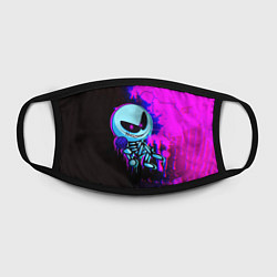 Маска для лица Friday Night Funkin SKID цвета 3D-принт — фото 2