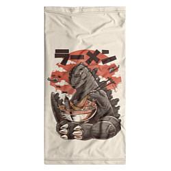 Бандана-труба Godzilla Eat цвета 3D — фото 2