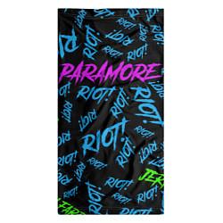 Бандана-труба Paramore RIOT! цвета 3D-принт — фото 2