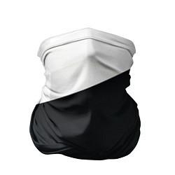Бандана-труба Чёрно-белый цвета 3D — фото 1