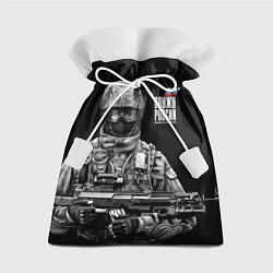 Мешок для подарков Служу России цвета 3D — фото 1