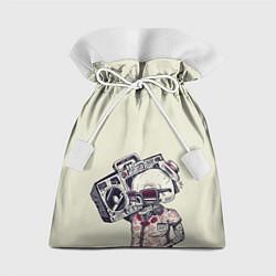 Мешок для подарков Череп цвета 3D — фото 1