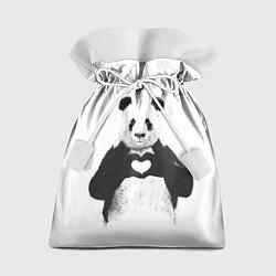 Мешок для подарков Panda Love цвета 3D — фото 1