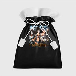 Мешок для подарков Kiss Monster цвета 3D — фото 1