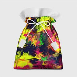 Мешок для подарков Кислотный взрыв цвета 3D — фото 1