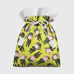 Мешок для подарков Солдатики в камуфляже цвета 3D — фото 1