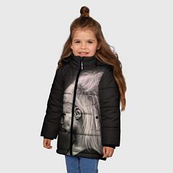 Куртка зимняя для девочки Die Antwoord GIrl цвета 3D-черный — фото 2