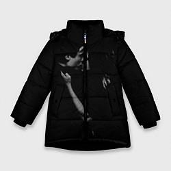 Куртка зимняя для девочки Vampire Love цвета 3D-черный — фото 1