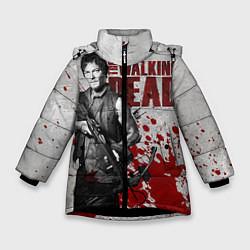 Куртка зимняя для девочки Walking Dead: Deryl Dixon цвета 3D-черный — фото 1